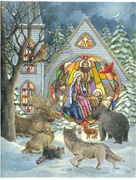 Christmas Nativity design by Parker Fulton