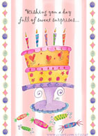 Birthday design by Jessica Sporn