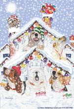 Christmas Pups by Mary Badenhop