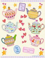 Teapots by Jessica Sporn