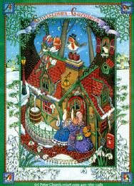 Christmas Mouse House