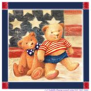 Patriotic Baby Teddy Bears