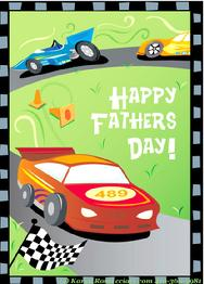 Race Car, Father's Day