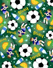 soccer, pattern, green, boys, balls, water bottles