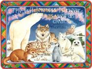 Polar Bear, penguin, snow bunny, snow fox, seal p;up, wolf