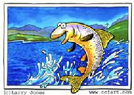 Humorous Fish by Larry Jones