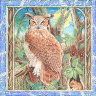 Martin's portfolio contains highly detailed animal and floral designs.